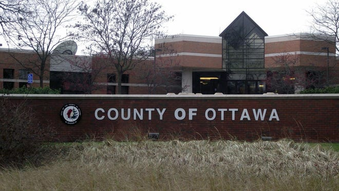 Ottawa County administrative offices on Fillmore Street.