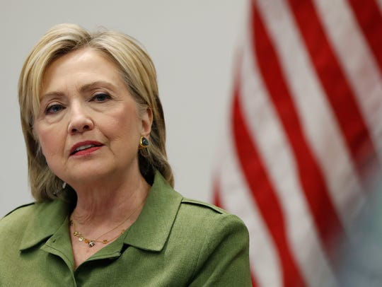 The candidacy of 2016 nominee Hillary Clinton used