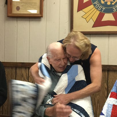 NKY veterans blanketed with thank you hugs