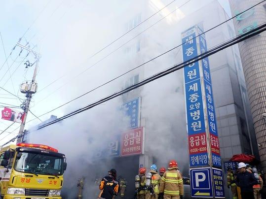 More Than 30 Dead, Dozens Injured In Hospital Blaze In South Korea