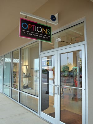 OPTIONS is one of four new stores open at the Outlets of Mississippi.