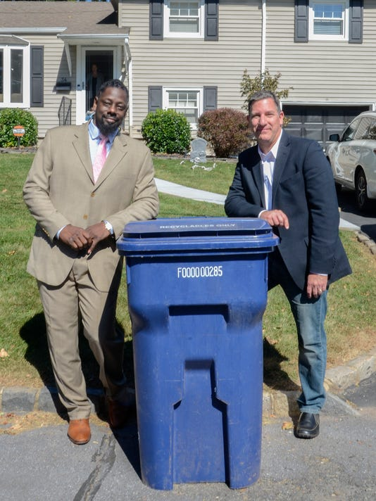 Curbside recycling program highlighted PHOTO CAPTION