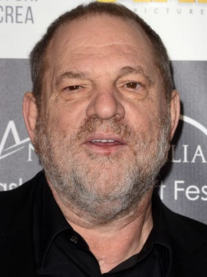 Harvey Weinstein on February 19, 2017, at the Los Angeles Italia Film, Fashion and Art Festival at the TCL Chinese 6 in Hollywood. He was expelled from the Academy of Motion Picture Arts and Sciences on Saturday, Oct. 14, 2017, in response to mounting allegations of sexual harassment and assault against him. (David Edwards/DailyCeleb/Sipa USA/TNS)