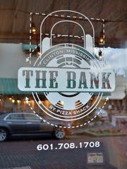 The Bank by Pizza Shack located is at 200 West Leake Street in Clinton.