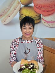 La Brioche museum location manager Maria Maya is ready to serve you lunch before you come back for dessert. Or, you can eat dessert first.
