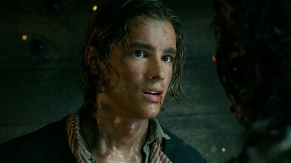 Brenton Thwaites as Henry Turner in 'Pirates of the