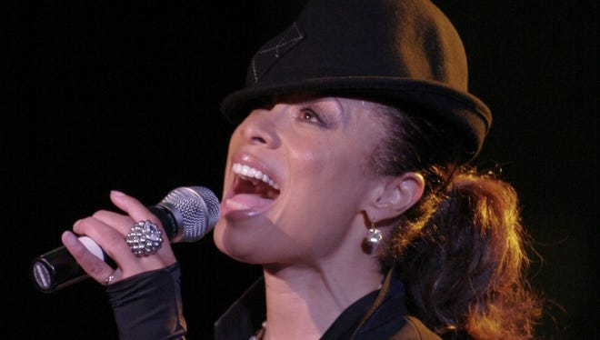 Valarie Pettiford performs at the Cabaret at the Columbia Club in 2013.