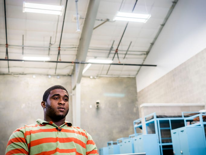 Jesse St. Julien participates in Lafayette Parish Correctional