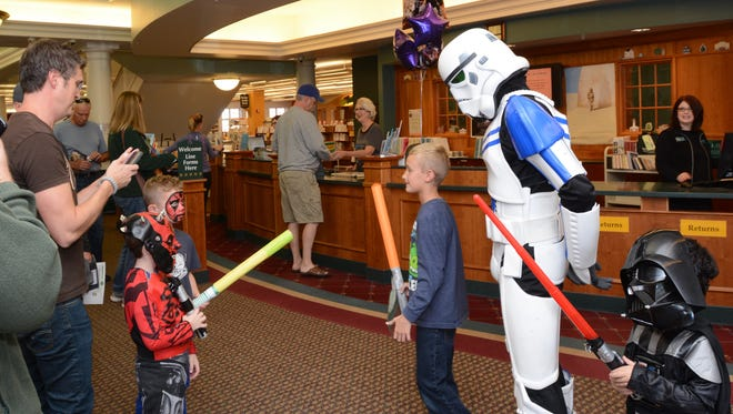 Stop by the Plymouth District Library for its annual Star Wars event.
