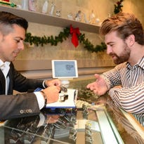 Lee Neves, president of Neves Jewelers, is shown at the store's location in The Grove in Shrewsbury.