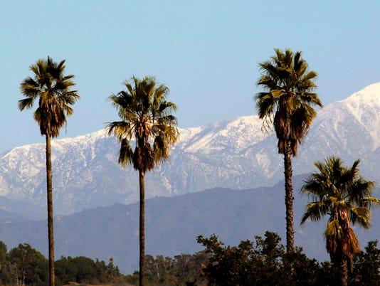 AP SOUTHERN CALIFORNIA SNOW A USA CA