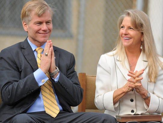 Bob and Maureen McDonnell