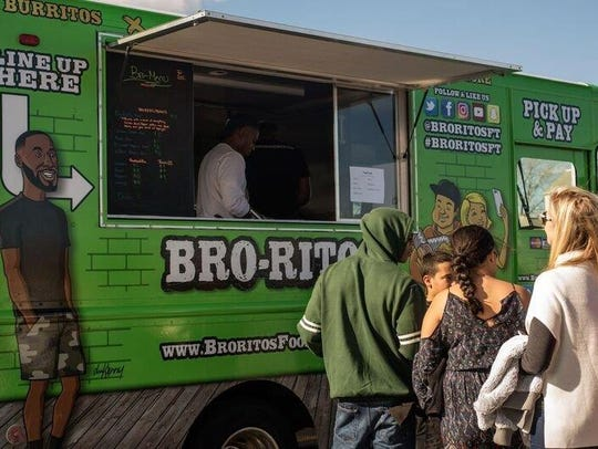 Bro-ritos food truck