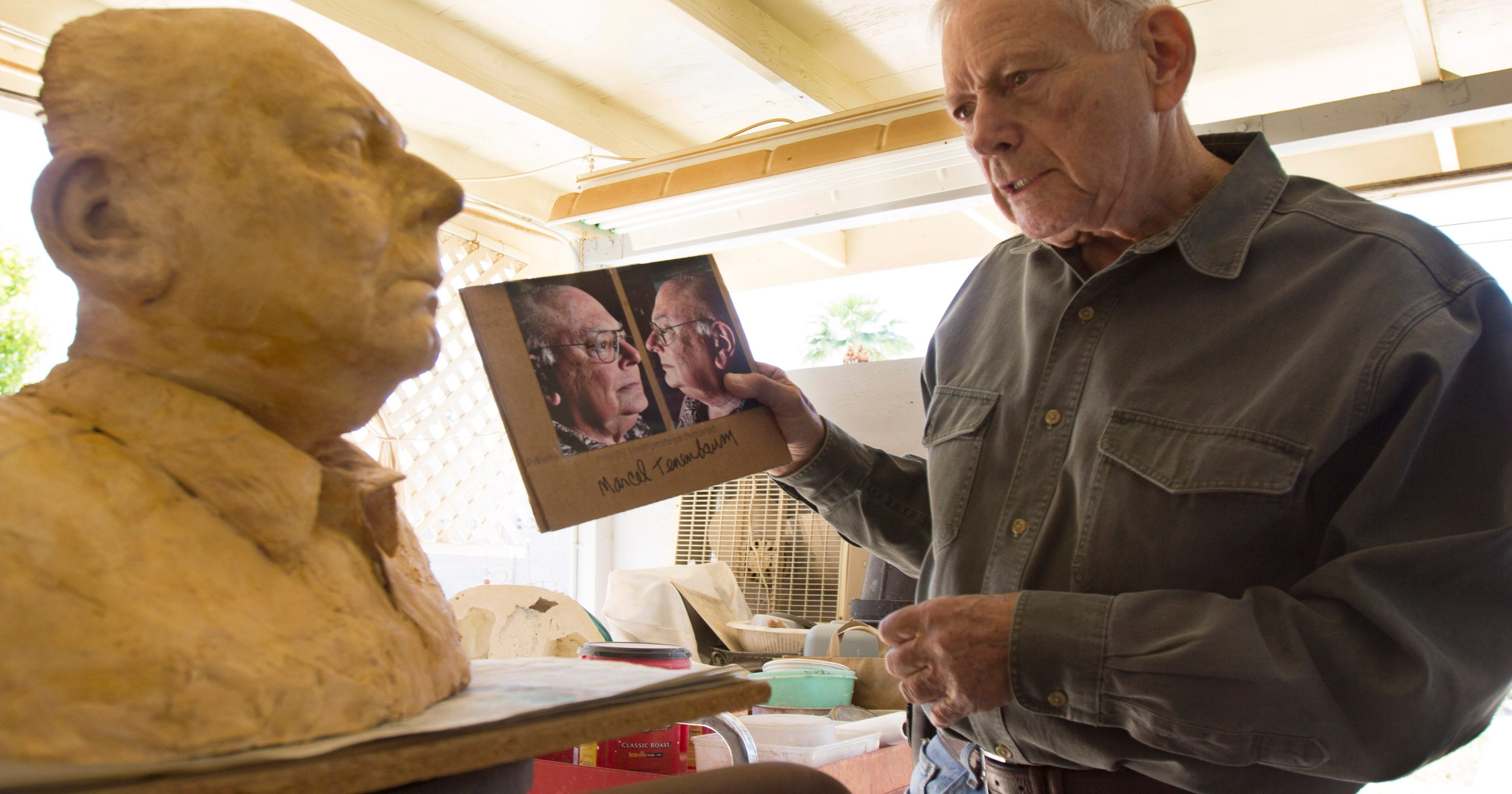 Scottsdale artist's masks show life in face of death