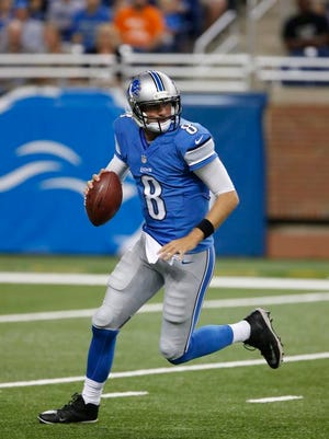 Lions quarterback Dan Orlovsky could be in a battle with Kellen Moore for the team's top backup role.