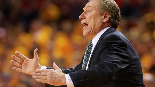 Coach Tom Izzo and his MSU men's basketball team remained at home in East Lansing on Monday as a blizzard approached the East Coast, postponing the Spartans' game against Rutgers that was scheduled for Tuesday in Piscataway, N.J. No makeup date has been announced yet.