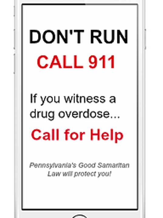 The logo and phrase used to promote the Good Samaritan Law in Pennsylvania.