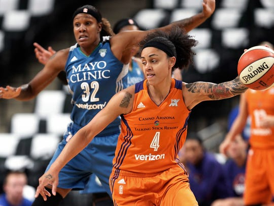Candice Dupree was acquired from Phoenix this offseason.