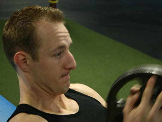 Eric Howser, head trainer at Elite Edge Gym in Waukee,
