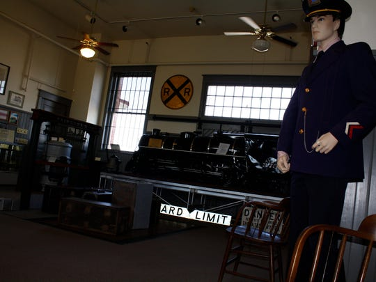 The Railway Museum of San Angelo participated in National Museum Day with free admission in September 2011.