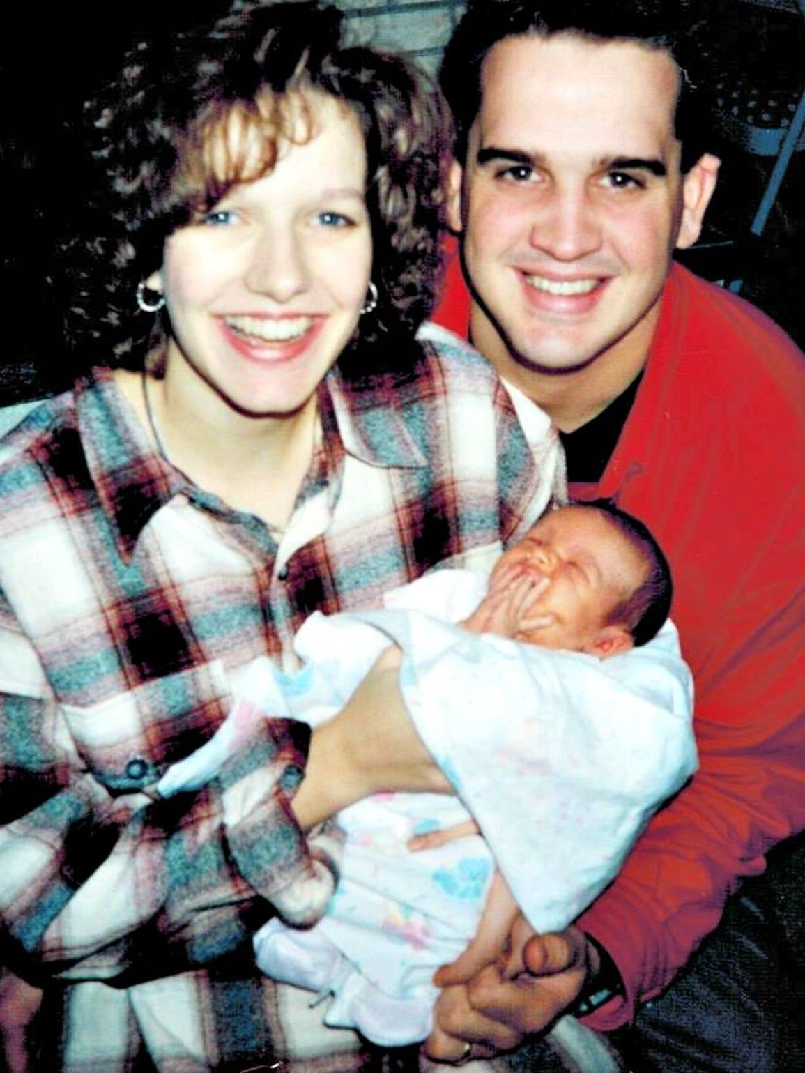 Brian, Wendy and Katelyn Klinefelter.