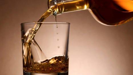 Malt whisky.