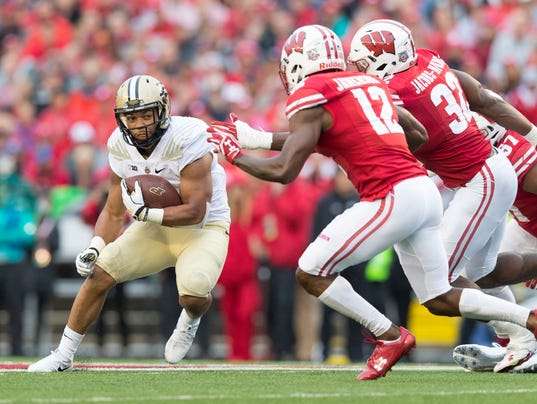 NCAA Football: Purdue at Wisconsin