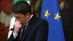Italian Prime Minister Matteo Renzi in Rome on Dec