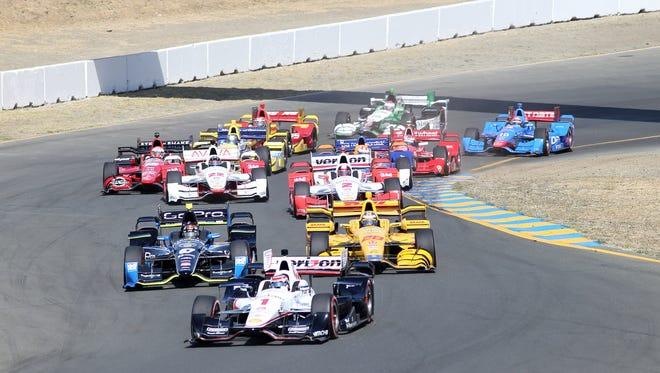 The GoPro Grand Prix of Sonoma, the 2015 IndyCar series season finale.