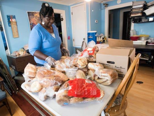 Annie Murray, a volunteer at Epps Christian Center,