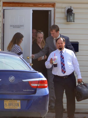 Robert Jaynes Jr., seen coming out of Irvington Bible Baptist Church in  October 2015, pleaded guilty Tuesday, March 29, 2016, to producing almost 100 tons of synthetic marijuana and conspiracy to commit fraud.
