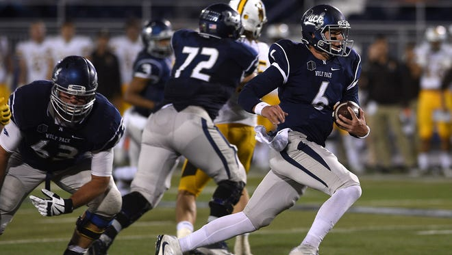 The next Wolf Pack head coach will inherit quarterback Ty Gangi.