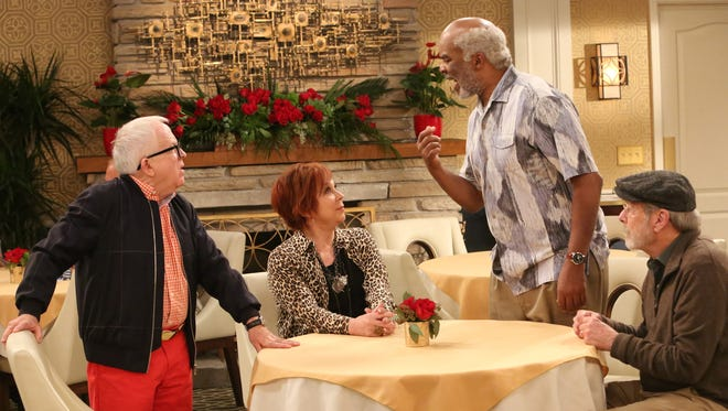 """""""The Cool Kids"""" (Fox): The social standing of three male friends in a retirement community (Leslie Jordan, David Alan Grier and Martin Mull) is threatened when Margaret (Vicki Lawrence, """"Mama's Family"""") moves in."""