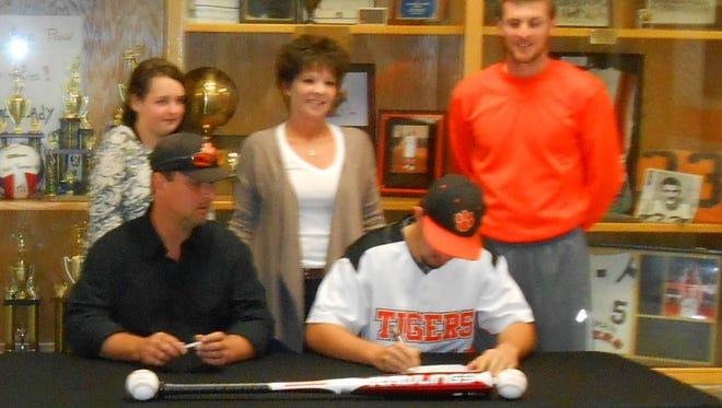 Rosman senior Dillon Zachary has signed to play baseball for Catawba Valley Community College.