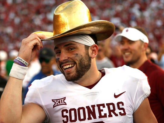 Oklahoma quarterback Baker Mayfield has won the Walter