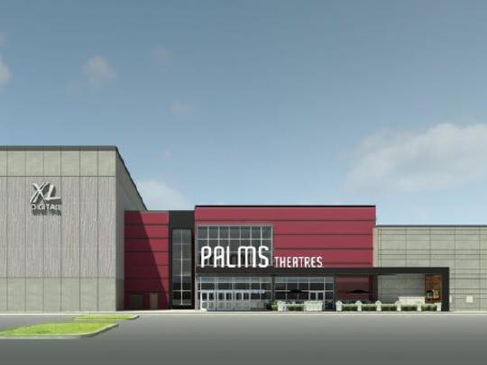 The Palms Theatres in Waukee will have an 85-foot-wide IMAX screen and 14 additional auditoriums with luxury recliners and dining options.