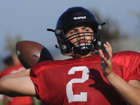 Rio Mesa and senior quarterback Austin Maciel feels good about Rio Mesa'a chances to win the league title.