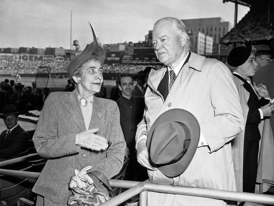 Herbert Hoover, Grace Coolidge
