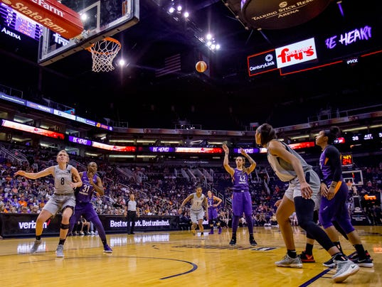 Phoenix Mercury v. Las Vegas Aces