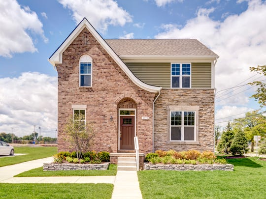 This is the type of single-family home that would be built at the Normandy Oaks residential redevelopment in Royal Oak.