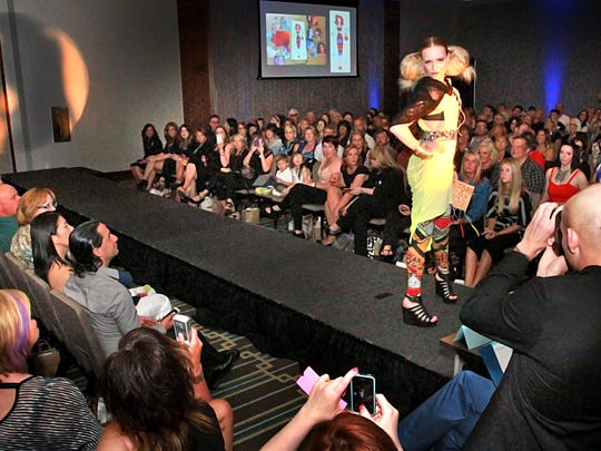 An overall scene setter during the 2nd Annual Catwalk for Clean Water, Eco-Fashion Show to benefit claen water across the state of Indiana sponsored by AVEDA and held at the Alexander Hotel.