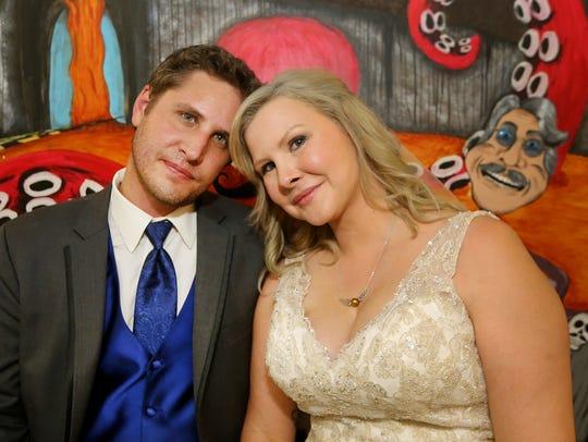 Thomas Brandt and Rachel Sloan-Brandt got married during