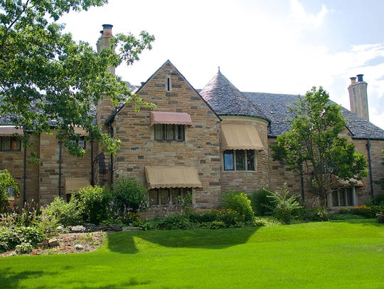 The Harper House at 1408 Cambridge Road, originally