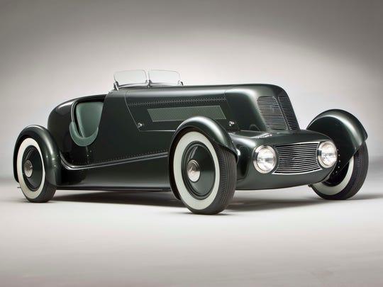 """Edsel Ford Model 40 Special Speedster, 1934. Designed by Edsel Ford and Eugene T. """"Bob"""" Gregorie."""
