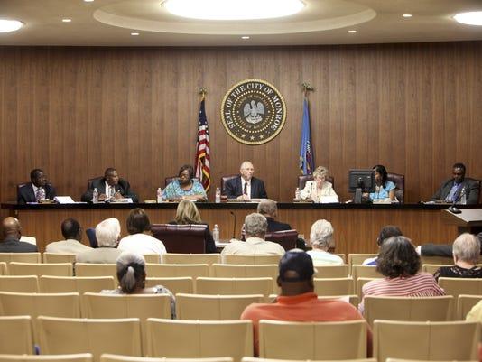 City council meeting 07/08/2014