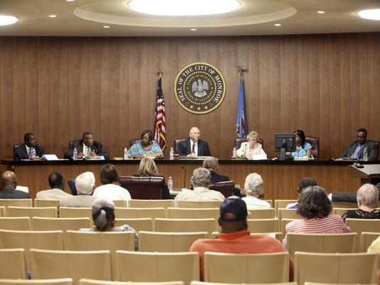 City council meeting 07/08/2014