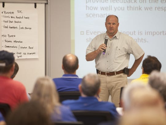 Emergency Response Training Center Director Jason Whipple