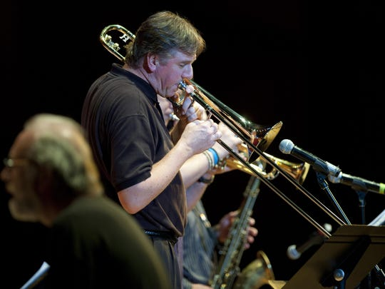 Trombonist Conrad Herwig is one of eight faculty members of the Mason Gross School of the Arts who will perform on July 15. The concert kicks off the 2015 edition of the Mason Gross Summer Series, which will be held at the school's performing arts center in New Brunswick in late July and early August.