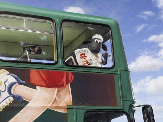 """Shaun the Sheep"" is from the same studio as ""Chicken Run."""