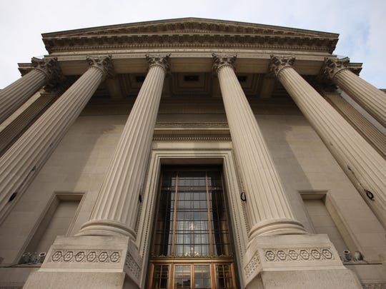Public defenders for a man accused of taking a thumb from a statue want security records from Philadelphia's Franklin Institute.